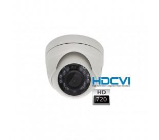 Mini caméra dôme HDCVI 720P objectif fixe 2.8 infrarouge 10 mètres