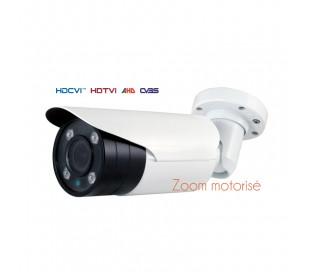Caméra série ULTRAPRO avec IR de 50 m. Capteur Sony Exmor de 2MP 1080P. Objectif motorisé de 2,8-12 mm