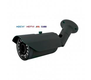 Caméra extérieure, série PRO, infrarouge de 40 m. Lowlight de 2,4MP a 1080P. Objectif varifocale 2,8-12 mm. Menu OSD