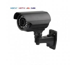 Caméra extérieure, série PRO, IR 40m. 2,4MP 1080P. Objectif 2,8-12 mm. Menu OSD