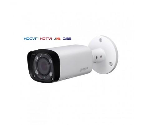 Caméra extérieure Smart IR de 60 m. 1MP en 720P. Objectif 2,7~12 mm