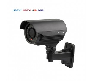 Caméra extérieure infrarouge 40 m. 1MP en 720P. Objectif 2,8-12 mm.