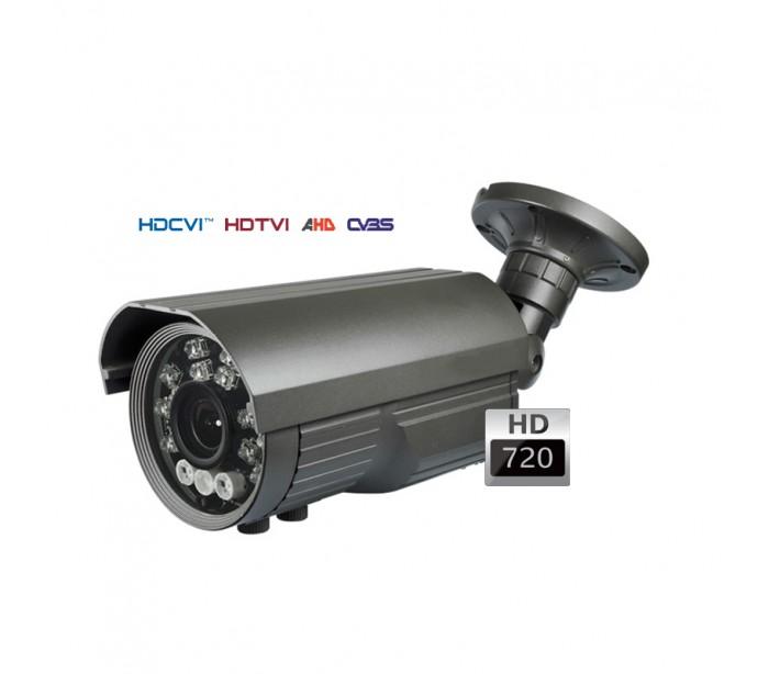 Cam ra de surveillance ext rieure vision nocturne 100 m 5 50mm for Video surveillance exterieure