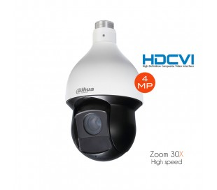 Caméra dôme 4 MP motorisé 16x 4,3-135 mm HDCVI Infrarouge 100m