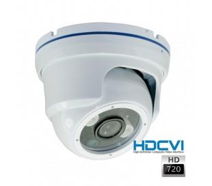 Caméra dôme HDCVI 720P objectif fixe 2.8 infraouge 30 mètres