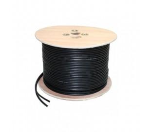 Câble coaxial RG-59 + alimentation 300 mètres