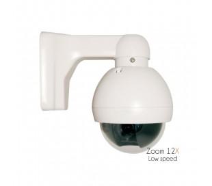 Caméra motorisée extérieure, zoom optique de 5 à 60mm, capteur SNY 700 lignes