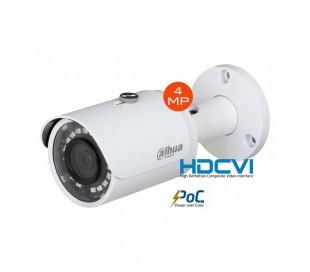 Caméra extérieure HDCVI 4MP focale 2,8mm avec système PoC