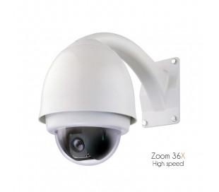 caméra de surveillance motorisée, zoom 36X de 3.4 à 122,4mm, High speed