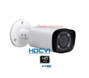 Camera de surveillance zoom motorisé 2.7-12mm 1080P 2.1 MP HDCVI IR 60M