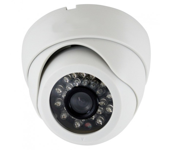 camera d me de surveiillance int rieur 1 4 sony 3 6mm focale fixe ir 5m. Black Bedroom Furniture Sets. Home Design Ideas