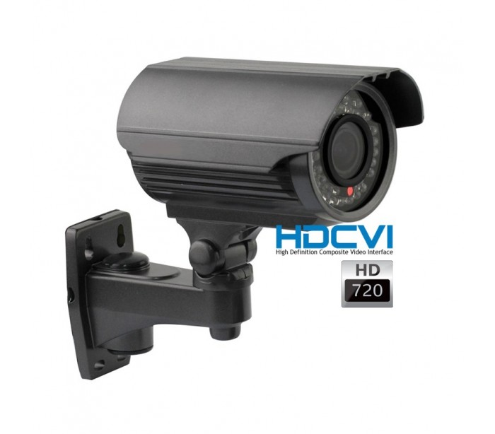 kit video surveillance hdcvi avec 1 cam ra ext rieure varifocale. Black Bedroom Furniture Sets. Home Design Ideas