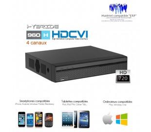 Enregisteur  canaux hybride Lite 720P