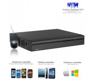 Enregistreur de vidéo surveillance 8 canaux, Full 960H, 25 images par secondes pour chaque caméra