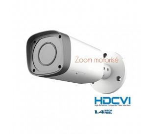 Caméra extérieure zoom motorisé 2,7-12mm, vision de nuit 30 mètres
