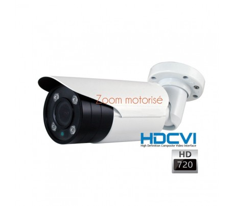 Caméra de surveillance HDCVI focale 6-22 mm1080P vision nocturne 50 mètres