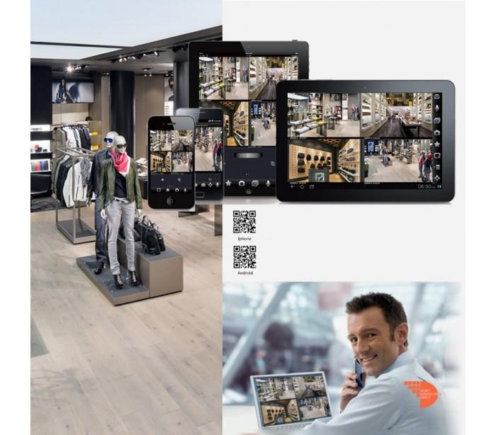 kit video surveillance 2 d mes hdcvi et un dvr full 720p. Black Bedroom Furniture Sets. Home Design Ideas