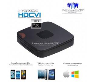 Enregistreur taille mini Full HD 720P et 960H