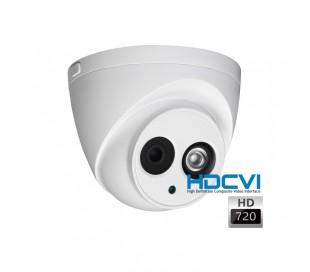 Caméra dôme HDCVI 720P de surveillance IR 50 mètres