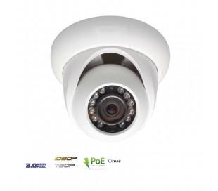 Dôme IP 3MP infrarouge 30m 3,6mm