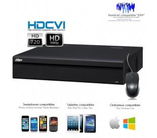 Enregistreur 24 canaux HDCVI Full 720P et 1080P