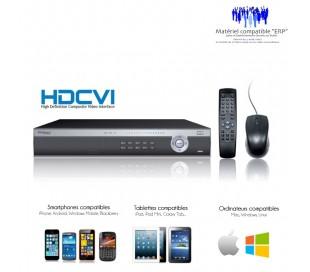 Enregistreur HDCVI 16 canaux, Full 720P