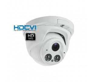 Caméra dôme HDCVI 1080P, objectif 2.8 à 12mm infrarouge 40 mètres