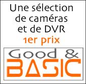 """La sélection vidéo surveillance """"Good and Basic"""""""
