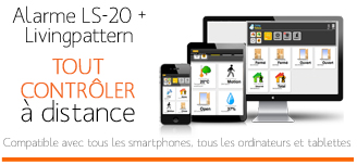 Application smartphone et PC alarme sans fil
