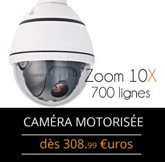 camera motorisée pas chère