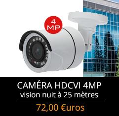 caméras HDCVI de surveillance pas chères varifocales