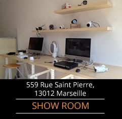Show room vidéo surveillance 559 rue Saint Pierre, 13012 Marseille