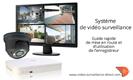 Comment installer mon système de vidéo surveillance