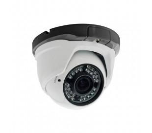 Caméra dôme varifocale HDiS 2.8 à 12mm, 800 lignes vision de nuit à 20m