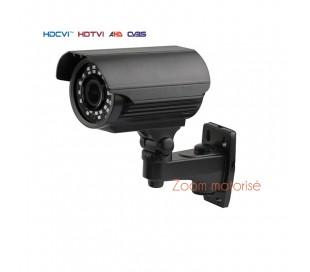 Caméra extérieure, série PRO, IR 40 m. 2,4MP 1080P. Objectif motorisé autofocus 2,8-12 mm