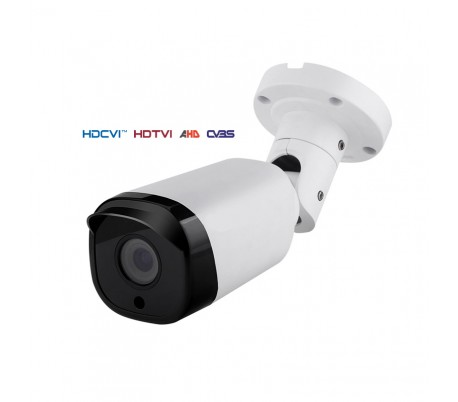"""Caméra """"tube"""" 4 en 1 série ULTRAPRO IR 40m. 1080P et 3 MP. Objectif 2,8-12 mm.OSD"""