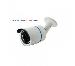 Caméra extérieure, série PRO, IR 25m. Lowlight de 2,4MP en 1080P. Objectif fixe de 3,6 mm.