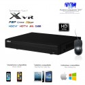 XVR 8 canaux full 1080P + 4 canaux IP 8MP