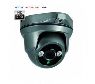 Caméra dôme HDCVI 720P avec objectif 3.6mm vision nuit 30 mètres