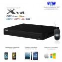 XVR de 16 canaux  720P/1080P + 8 canaux IP 6MP