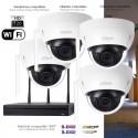 Kit WiFi de surveillance avec 4 caméras intérieures
