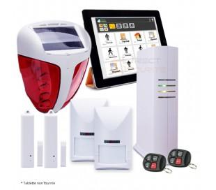 Kit alarme IP et GSM sans fil pour maison