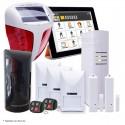 Kit alarme IP et GSM sans fil extérieur