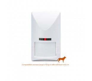 Détecteur de mouvement sans fil, compatible animaux