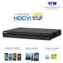 DVR HDCVI 4 canaux 4K/8MP + 2 canaux IP 4K/8MP