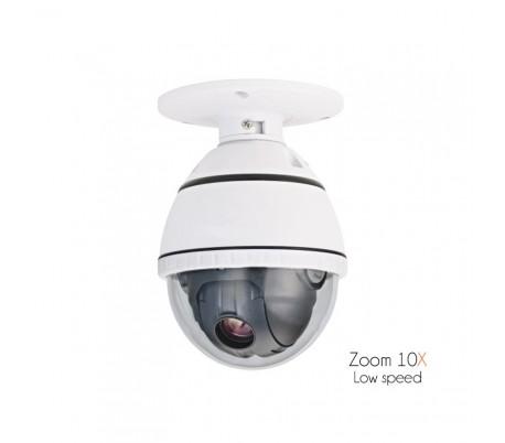 Caméra dôme motorisée avec zoom 10x, Optique Sony Effio Exview 700 lignes