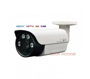 Caméra extérieure zoom motorisé 5-50mm 2MP