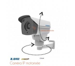 Caméra de surveillance IP motorisée, zoom 2.8-12mm 2MP