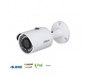 Caméra IP extérieure 4MP, focale 2.8mm, PoE vision de nuit 30m