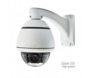 Caméra motorisée High Speed, zoom 5-50mm, haute sensibilité nocturne